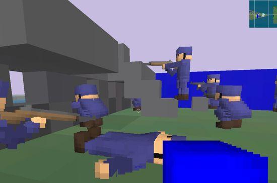 Jako zarazna igrica slična Minecraft-u, samo sa puškama! Gradite bunkere sa svojim timom i pobedite neprijatelje! :)