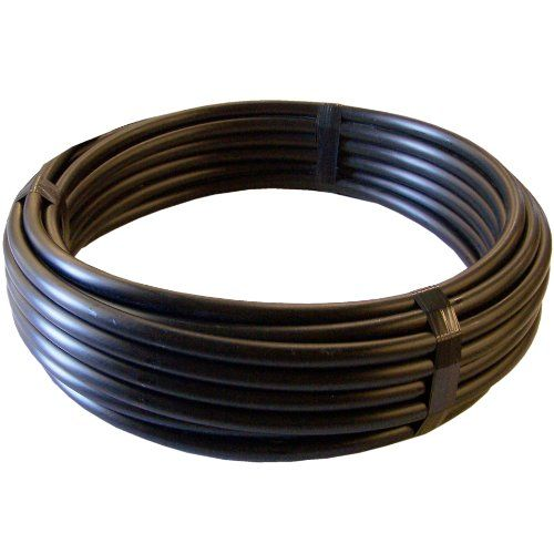 Genova Products 910071 3/4-Inch X 100-Foot 100 Psi Poly Cold Water Plumbing/Irrigation Pipe Tubing Roll, 2015 Amazon Top Rated Automatic Irrigation Equipment #Lawn&Patio