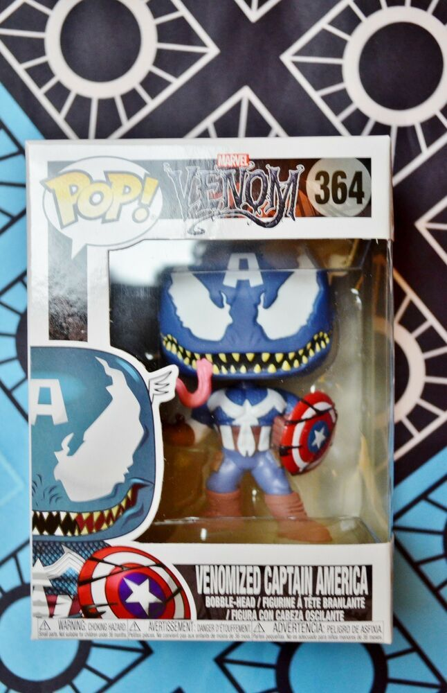 Venomized Captain America #364 FUNKO POP-Venom série Vinyl Figure BRAND NEW