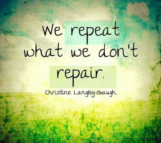 EMDR helps repair, so we don't repeat. EMDR opens up new ways of thinking and believing and being!