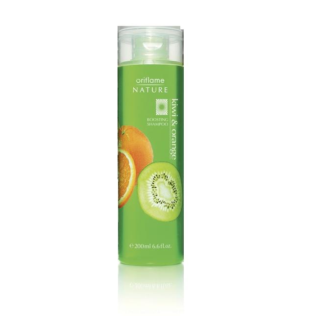 Champú volumen Naranja y Kiwi de Oriflame Nature, 200 ml, 2,95€