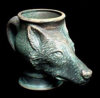 Porcelain Ceramic Mugs, sculpted by artist and craftsman Steve Lapin, and handmade in the USA, a great gift for all animal lovers, environmentalists,