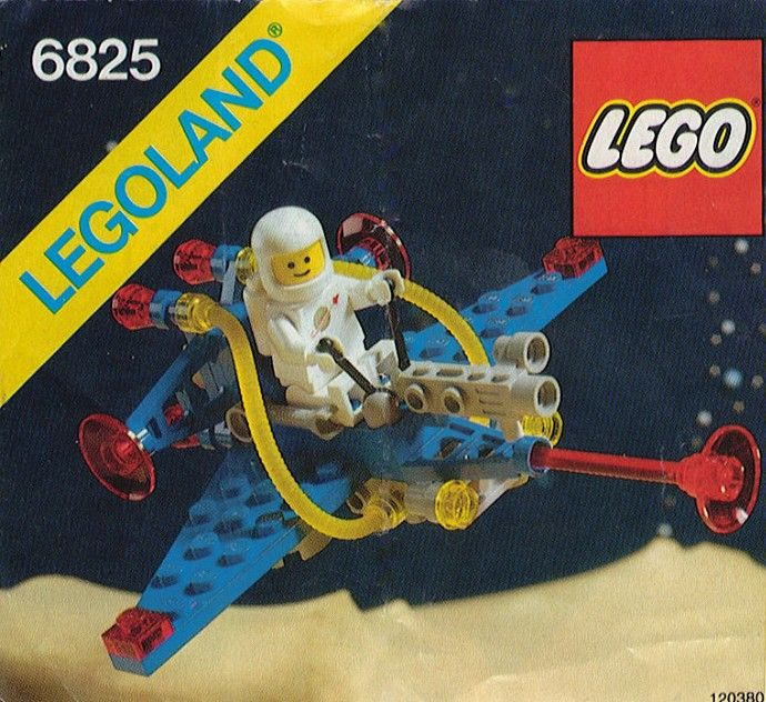6825-1: Cosmic Comet | Brickset: LEGO set guide and database