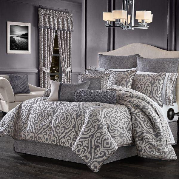 Tribeca California King 4 Piece Comforter Set In 2021 Comforter Sets J Queen New York King Comforter Sets