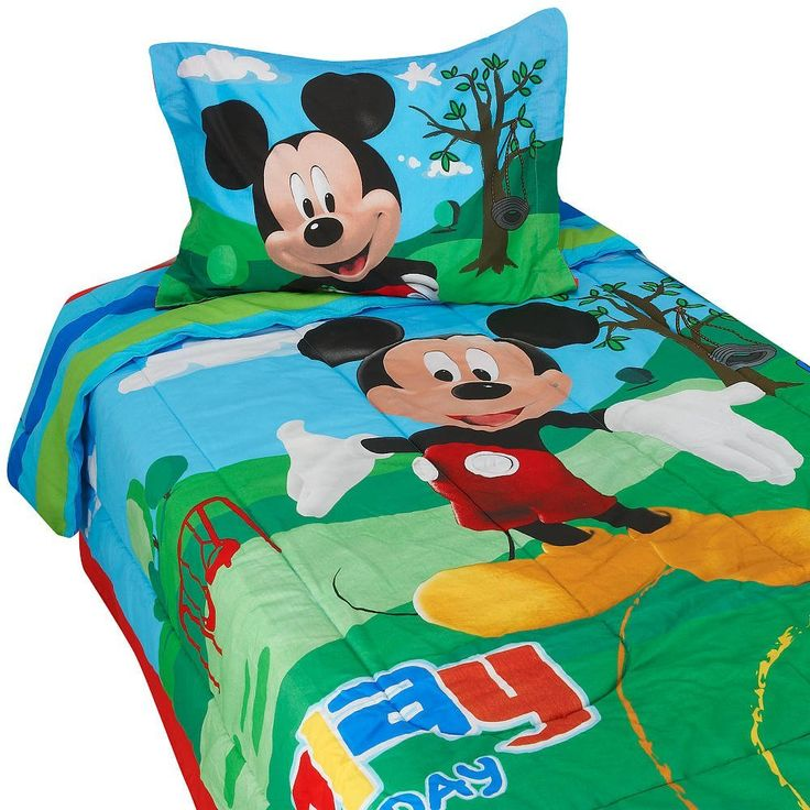 mickey mouse clubhouse toddler bedding set boys bedding setstwin