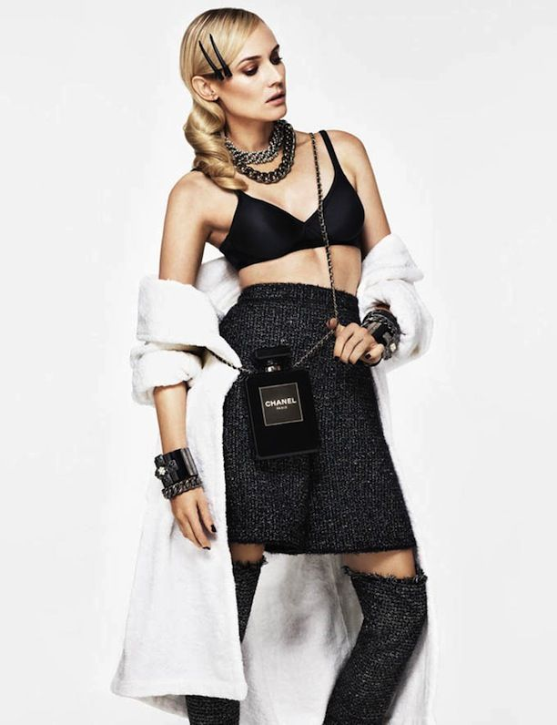 Diane Kruger in Chanel for Glamour Paris 2013
