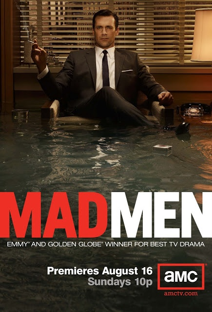Flyer Goodness: Mad Men Season 4 Premiere Poster + The Graphic Art of Mad Men