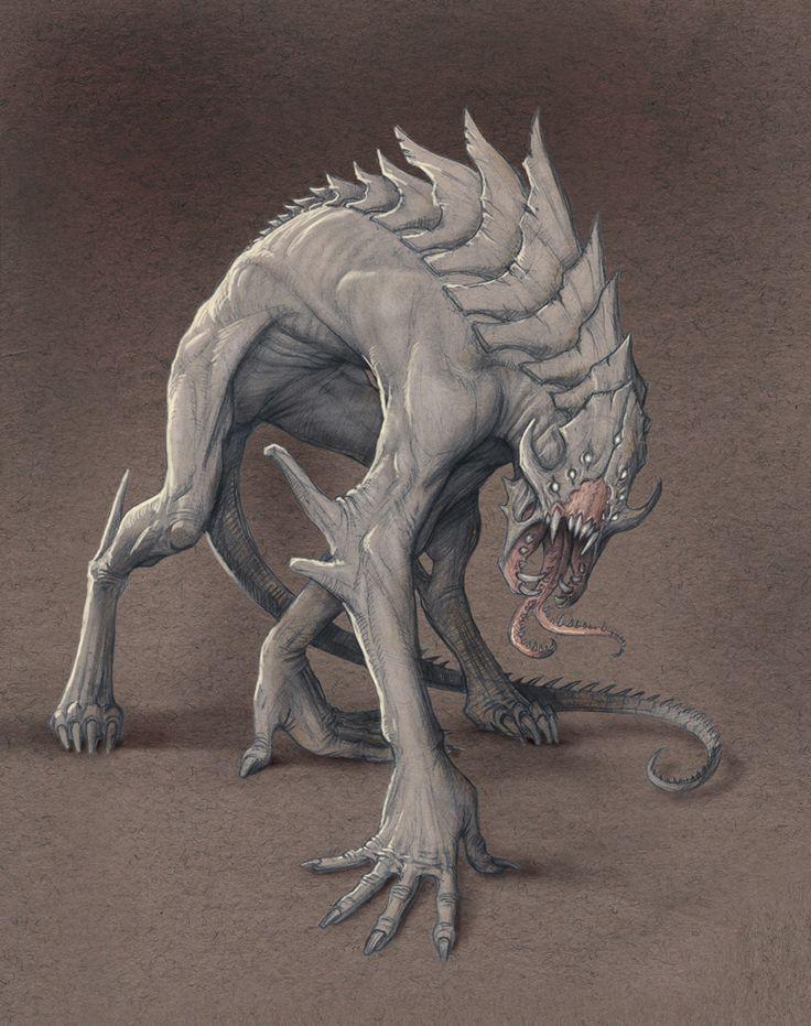 Demon Hound by StilleNacht.deviantart.com on @deviantART