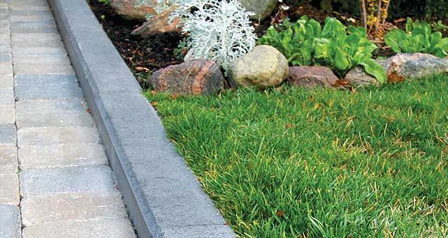 Top 56 ideas about garden walls edging on pinterest for Edging to keep mulch off sidewalk