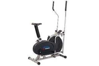 2-in-1 Elliptical Cross Trainer and Exercise Bike for £79.99 With Free Delivery (68% Off)