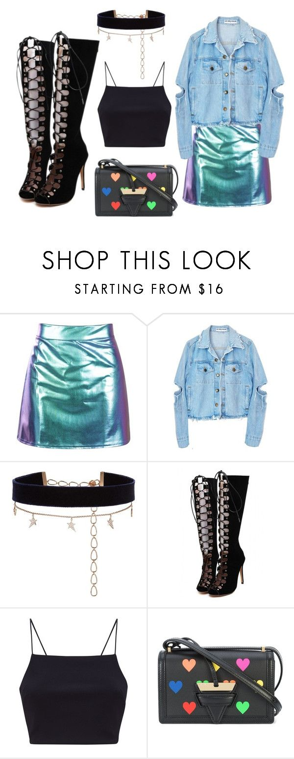 """""""Untitled #60"""" by bettina-agoston on Polyvore featuring Diane Kordas, WithChic and Loewe"""