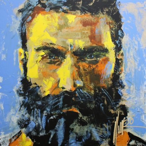 "Munro, ""in the day of battle"" on ArtStack #munro #art"