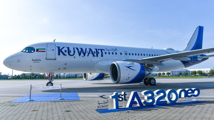 Kuwait Airways Takes Delivery Of First Airbus A320neo Kuwait Airbus Aircraft Sales
