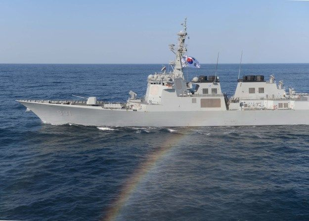 Republic of Korea Navy destroyer Sejong the Great (DDG-991) underway March 12, 2016. Seoul is considering adding Raytheon SM-3 missiles to its fleet of Aegis guided missile destroyers to give the ships a ballistic missile defense capability, according to local press reports.An unidentified South Korean military official told Yonhap news service last week that Washington and Seoul are set to start discussing for a missile purchase soon as additional hedge against North Korean ballistic…
