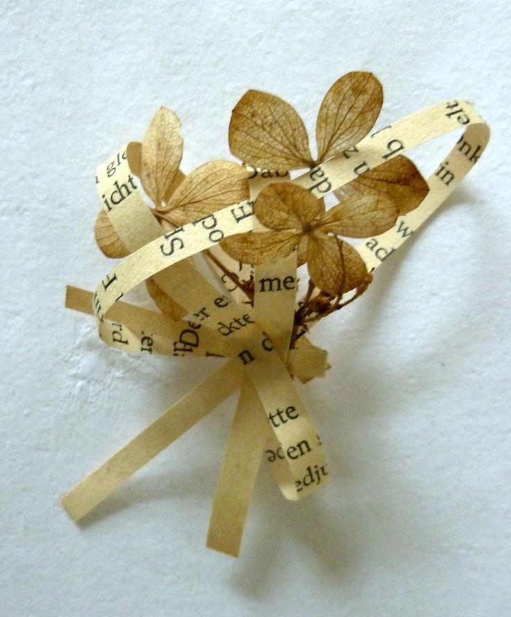https://flic.kr/p/eVfhdr | Sammlung - Collection (detail) | getrocknete Pflanzen und Papier aus einem Märchenbuch - dried plants and paper from a fairy tale book