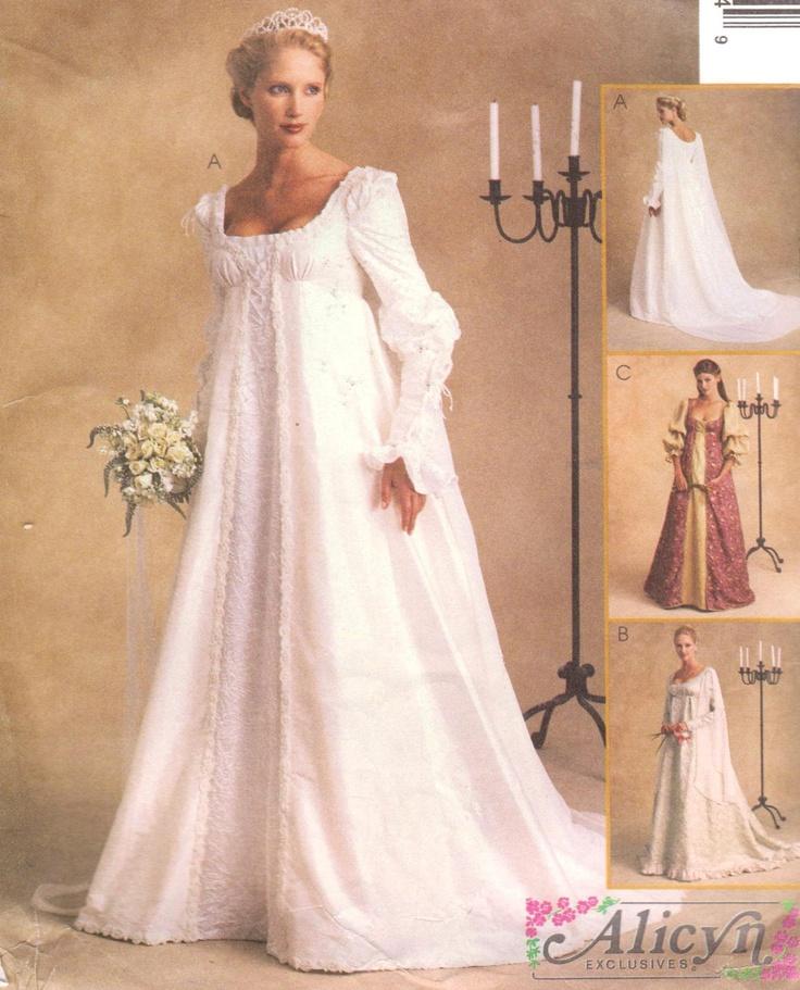 Plus Size Renaissance Wedding Dresses Naf Dresses: 82 Best Pattern Wishlist [Time Travel Costumes] Images On