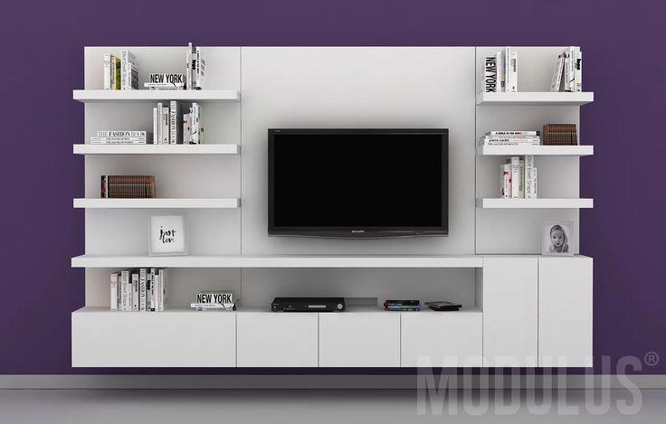 Las 25 mejores ideas sobre muebles para tv led en for Racks y modulares para living