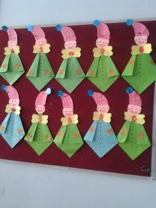 clown craft idea for kids (1) | Crafts and Worksheets for Preschool,Toddler and Kindergarten