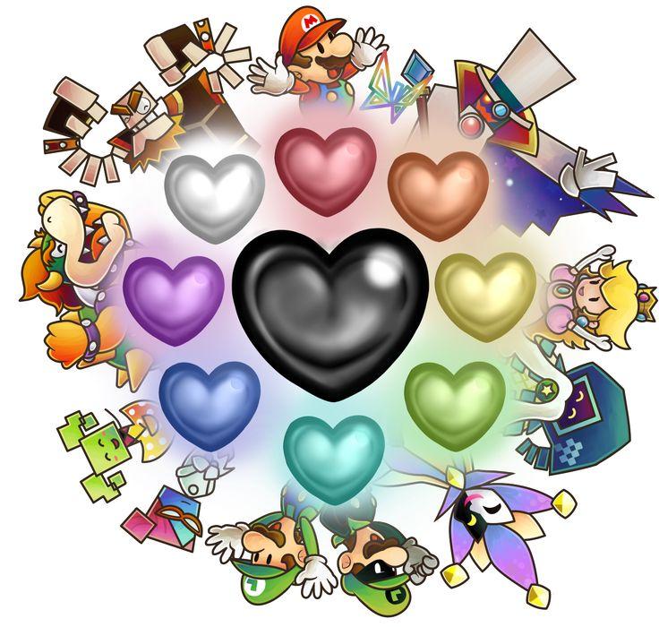 """muzyoshi: """"Super Paper Mario art """" atyyyyyyyyyy"""