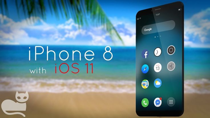 A new concept demonstrates the future iPhone 8 with a bezel-less screen and iOS 11. The French designer by the nickname Ears4D posted a video on YouTube where a concept of a new Apple smartphone with very narrow frames of a display and additional touch-panel under the screen is depicted. It works under the sway of iOS 11 operational system.   #Gadgets #iPhone #Review
