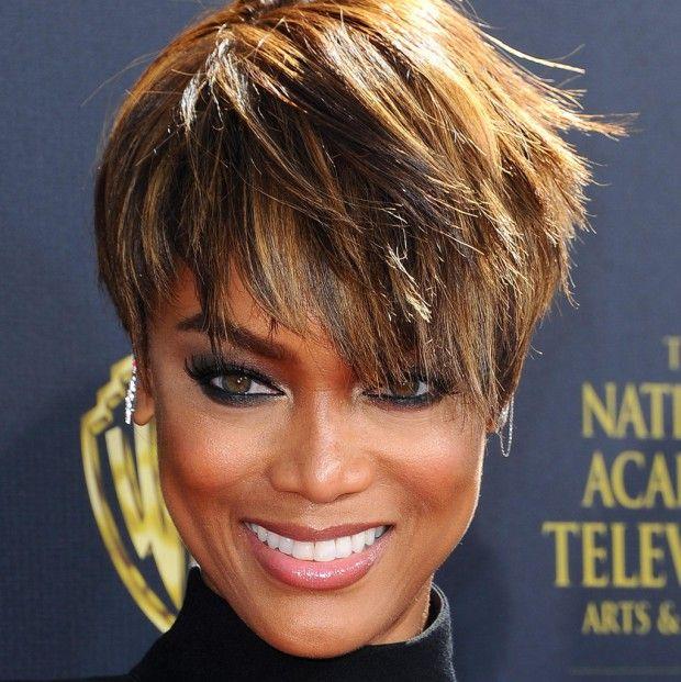 tyra banks new haircut | Tyra Banks est passée à la pixie cut !