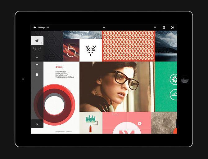 Adobe Touch Apps UI Design