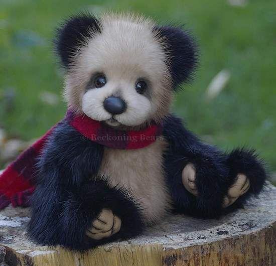 Eliott a mink bear by By Tammy Wamboldt   Bear Pile