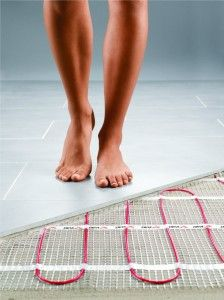 if it cost to heat a room for year with wet underfloor heating system would an - Heated Bathroom Floor Cost