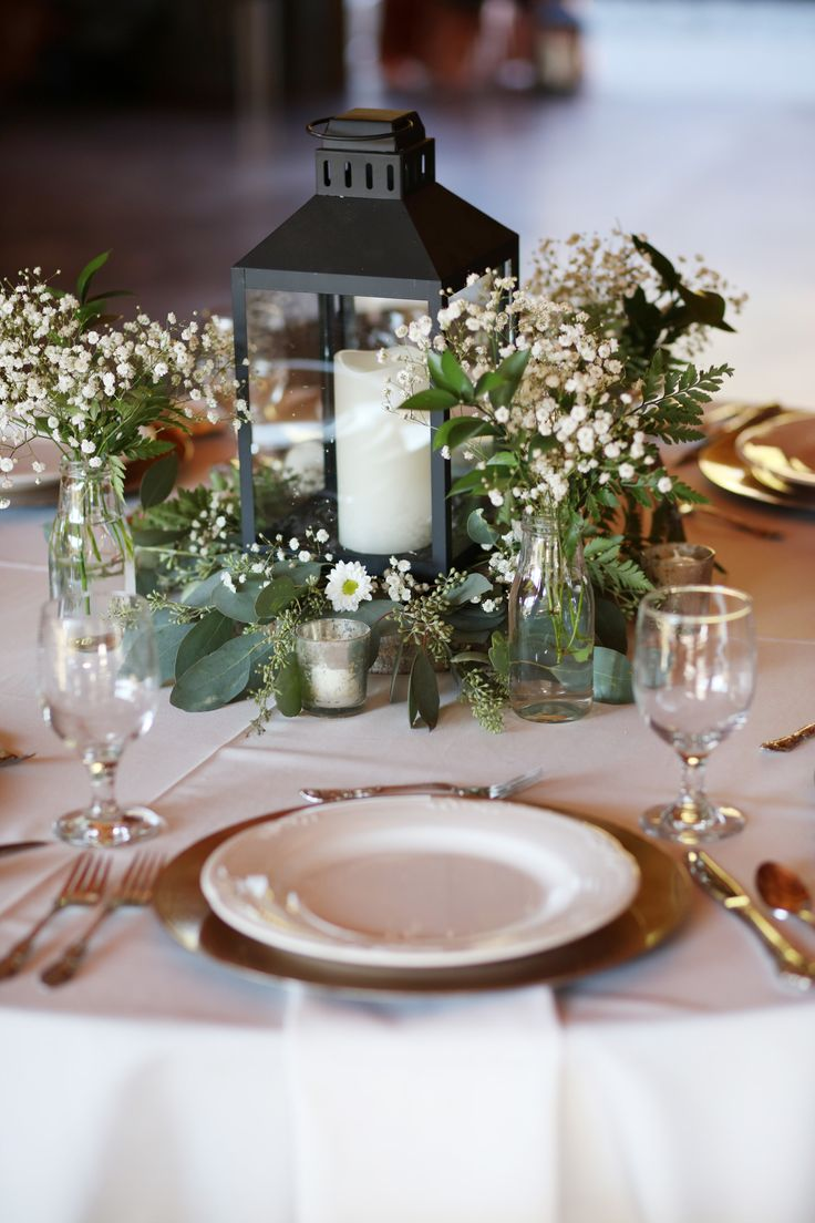 Smoky Mountain Lavender Romance Decor Wedding Table