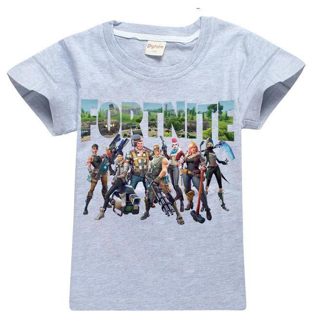 Fortnite Battle Royale Legend Gaming Pattern T Shirts For Teens Boys