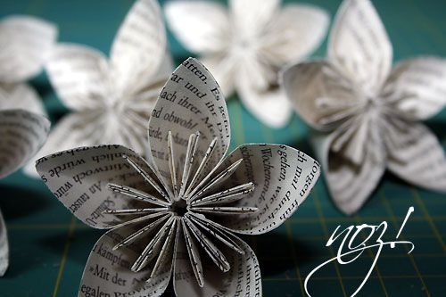 paper craft - flower - origami