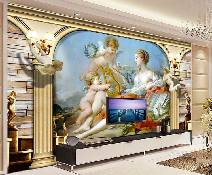 Room Wallpaper Custom Mural Non Woven Wall Sticker Figure Painting Angel Notre  Dame Painting Photo Wall Murals Wallpaper Part 98