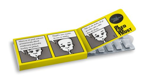 Fred #fred #ilustration #ilustrace #ChewingGums #žvýkačky #CharityGums