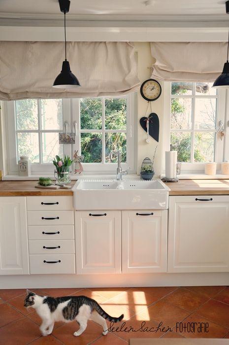 Scheibengardinen Küche Landhausstil | 93 Besten Einrichtung Bilder Auf Pinterest Wohnideen