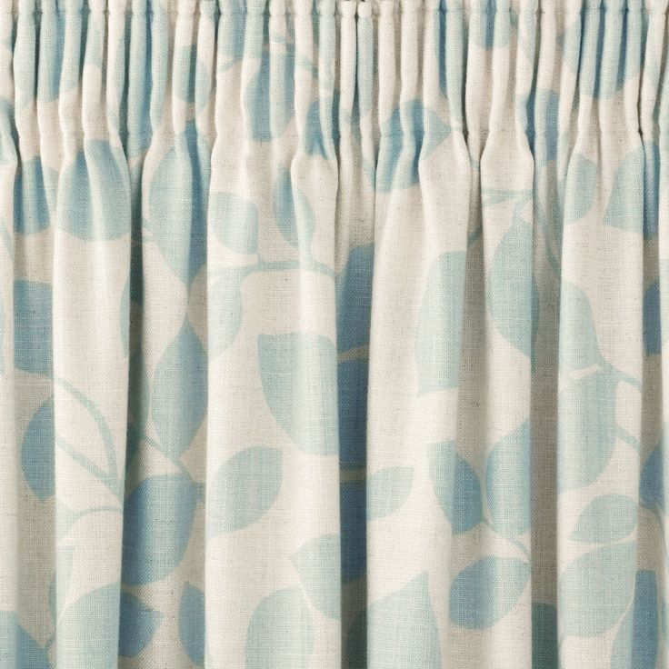 Laura Ashley Chesil Pencil Pleat Curtains