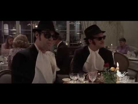 """Menu da Film trailer prima serata """"A tavola con i Blues Brothers, Alberto Sordi e Johnny Depp"""""""