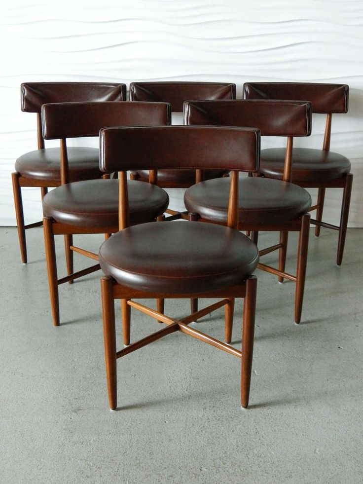 Ib Kofod Ln G Plan Teak Dining Chairs