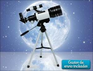 ¡Hasta el infinito y más allá! Hazte con el fantástico telescopio Refractor y conoce con todo detalle los secretos de nuestra galaxia y la naturaleza.