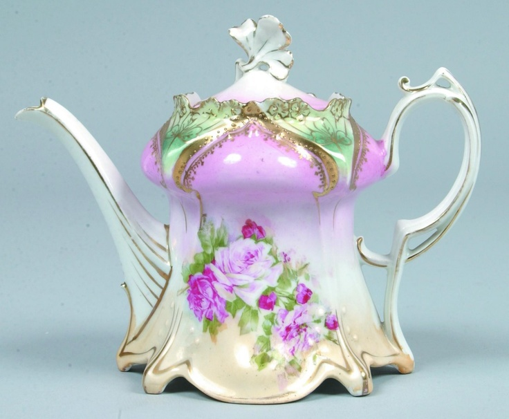 RS Prussia Tea Pot...I love this!!!!!