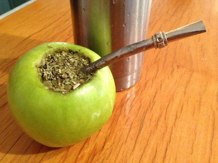 Tereré de manzana.