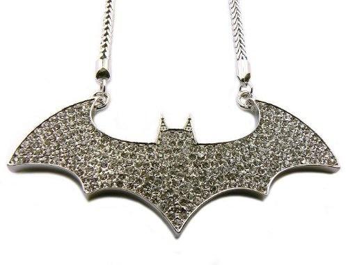 Batman necklace: Necklaces Silver, Chain Necklaces, Logos Pendants, Franco Chains, Hop Batman, Chains Necklaces, Batman Necklaces, Batman Logos