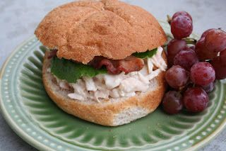Dijon Chicken Salad Sandwiches