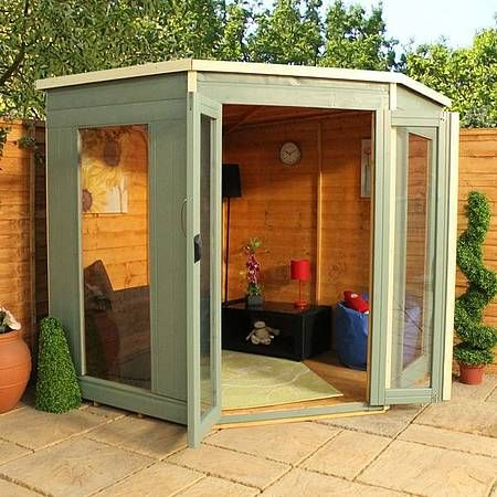 Shed Plans - 7 x 7 Waltons Premier Corner Summerhouse - Now You Can Build ANY Shed In A Weekend Even If You've Zero Woodworking Experience!