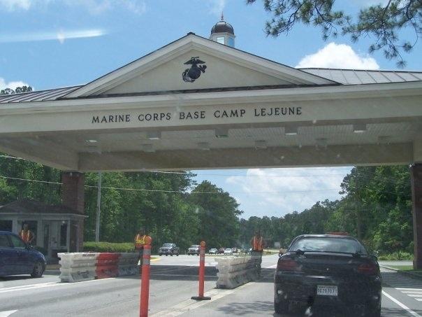 Camp Lejeune Marine Base North Carolina
