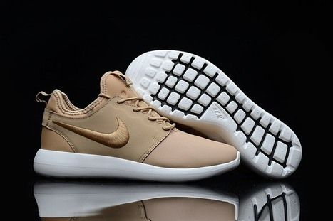 Nike Roshe Two Leather PRM Gold Shoes [nikeroshe-229] - $56.99 : | nike,nike shoes, | Scoop.it