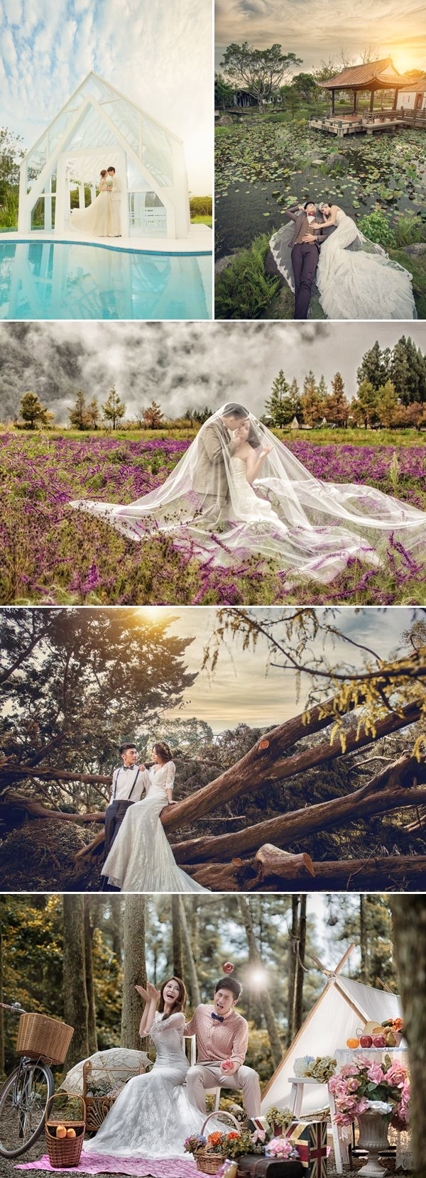 If you are a stylish, adventurous couple who would love to try out different concepts for your pre-wedding photo, we've got great news for you! Taiwan based bridal shop Royal Wed is offering a special pre-wedding package exclusive to Praise Wedding readers that includes the most gorgeous gowns, stylish makeup and hairdo, and both studio and …