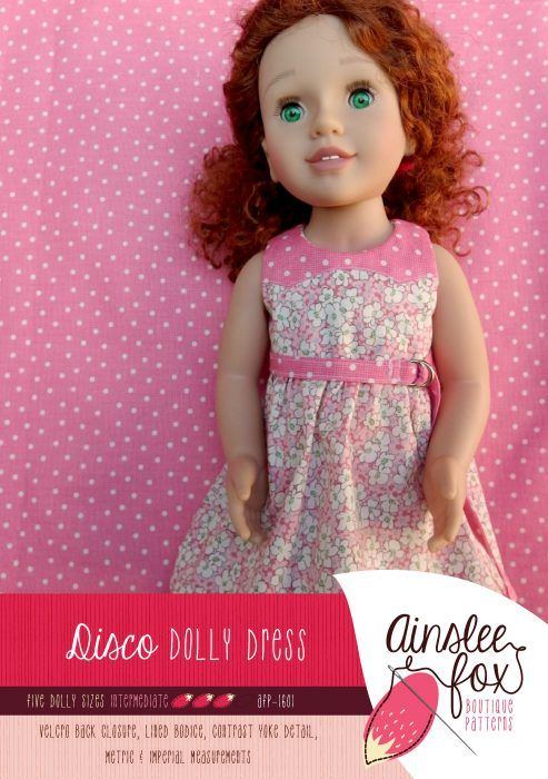 Dolly Disco Dress Front Cover