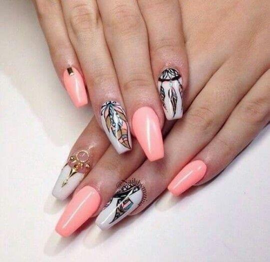 1000 id es propos de ongles attrape r ves sur pinterest art d 39 ongles de plume dessins d - Dreamcatcher l attrape reves ...
