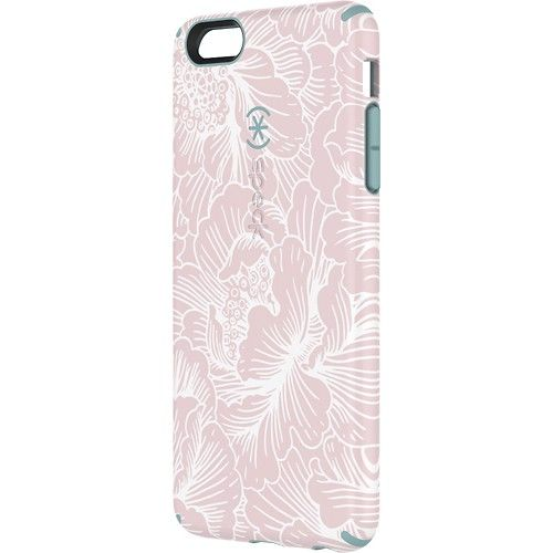 Speck - CandyShell Inked Case for Apple® iPhone® 6 Plus - Pink/Blue - Larger Front