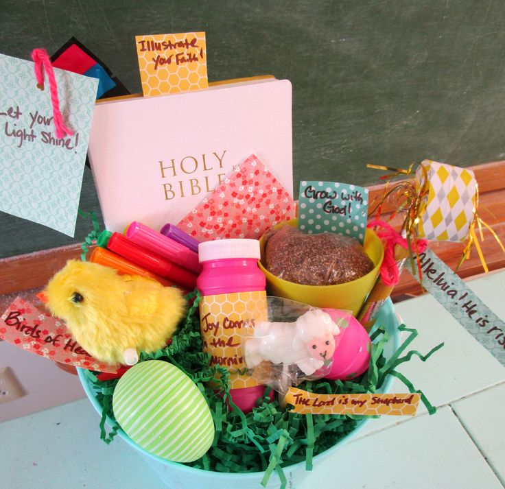 The 25 best filled easter baskets ideas on pinterest easter egg faith filled easter basket httpbuildfaith2015 negle Choice Image